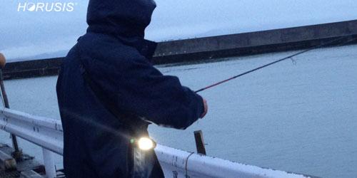 ホルシスチャージランプを釣りで使ってみました