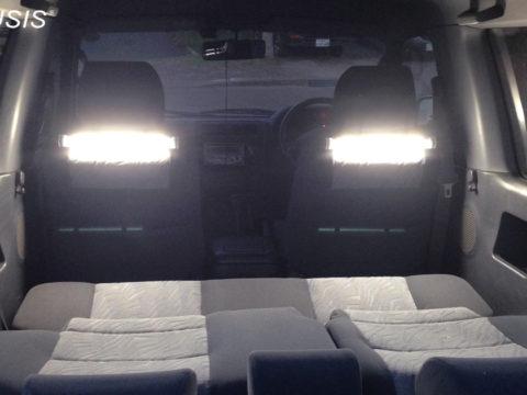 車中泊用ライト、ランタン、読書灯、ルームランプ